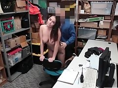 LP caught a striper Karlee Grey stealing some stuff and fuck