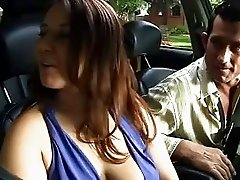 Cute Babysitter Ravaged By Mature Older Couple!