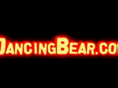 Cock fucked by dancing bear