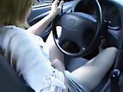 Female Driver Taming Her Lust