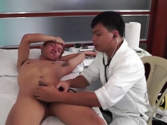 Doctor hungry for cock