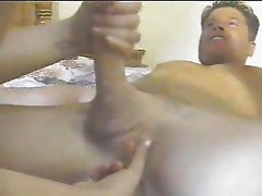 prostate massage with slow blowjob