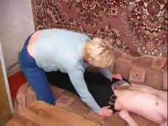 Russian mature slut Lana fucked again